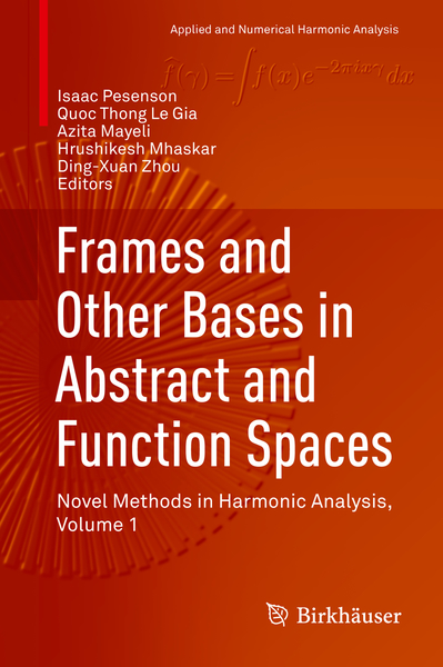 Frames and Other Bases in Abstract and Function Spaces | Dodax.pl