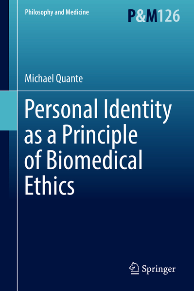 Personal Identity as a Principle of Biomedical Ethics | Dodax.ch