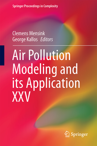 Air Pollution Modeling and its Application XXV   Dodax.nl
