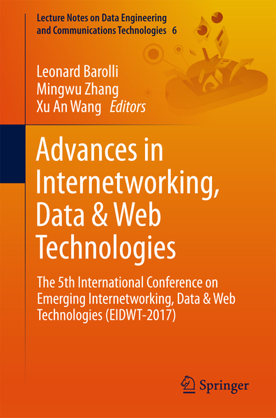Advances in Internetworking, Data & Web Technologies | Dodax.ch