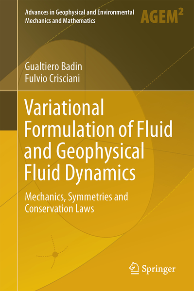 Variational Formulation of Fluid and Geophysical Fluid Dynamics | Dodax.nl