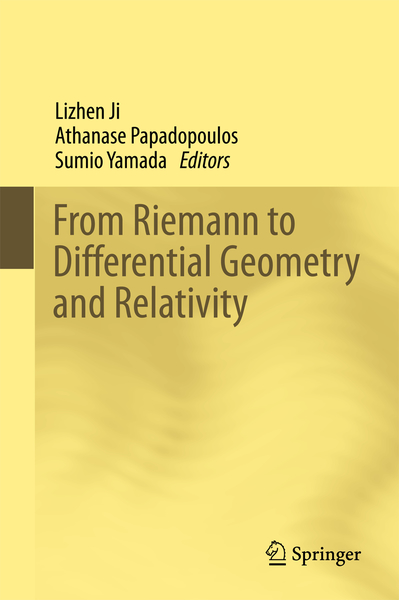 From Riemann to Differential Geometry and Relativity | Dodax.pl
