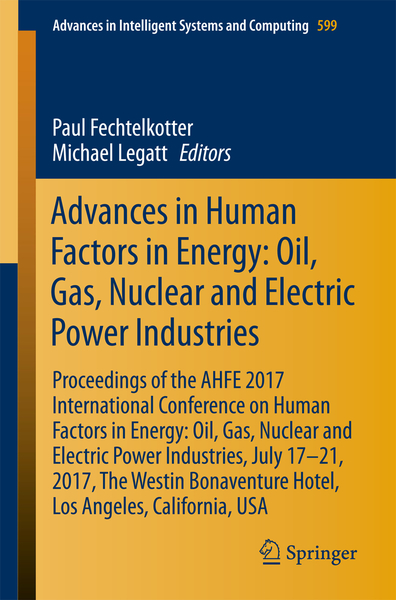 Advances in Human Factors in Energy: Oil, Gas, Nuclear and Electric Power Industries | Dodax.ch