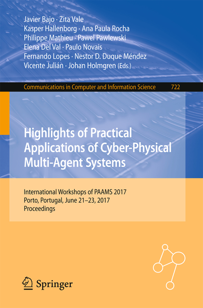 Highlights of Practical Applications of Cyber-Physical Multi-Agent Systems   Dodax.ch