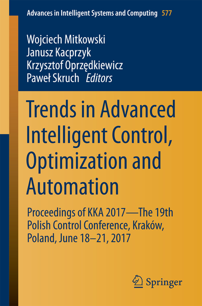 Trends in Advanced Intelligent Control, Optimization and Automation | Dodax.co.uk