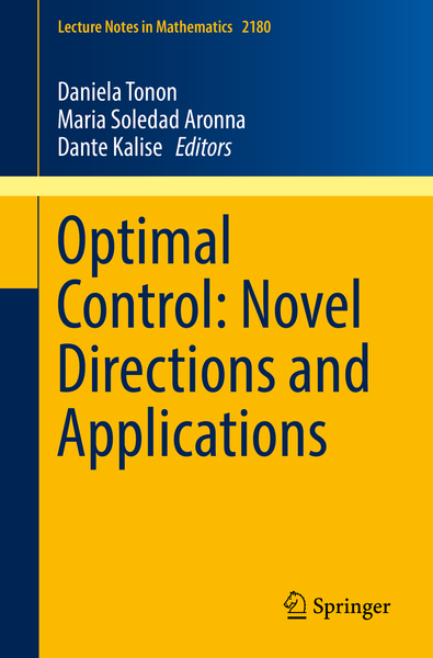Optimal Control: Novel Directions and Applications | Dodax.ch