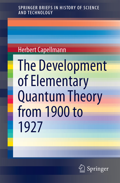The Development of Elementary Quantum Theory | Dodax.nl