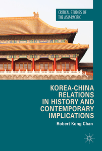 Korea-China Relations in History and Contemporary Implications | Dodax.nl