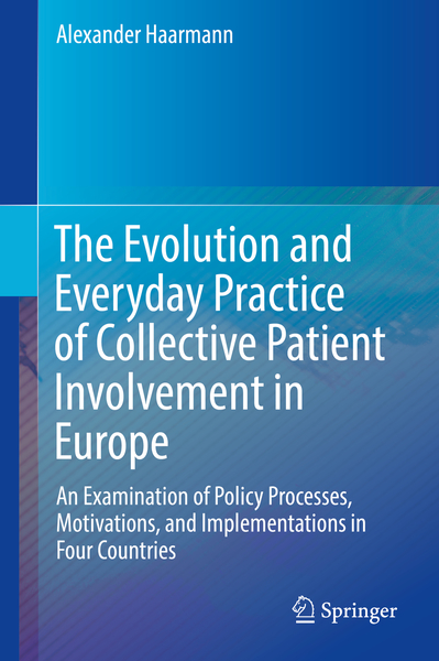 The Evolution and Everyday Practice of Collective Patient Involvement in Europe | Dodax.nl