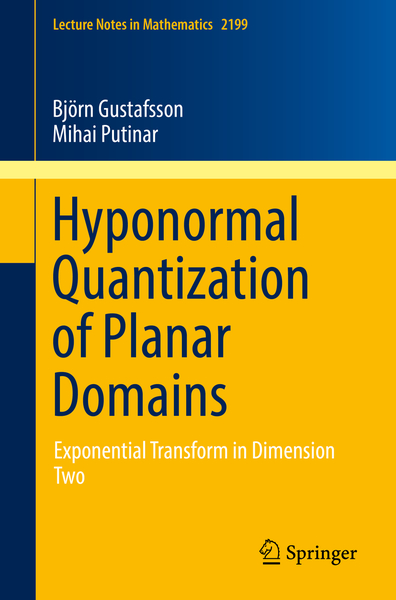 Hyponormal Quantization of Planar Domains | Dodax.ch