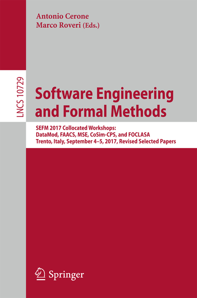 Software Engineering and Formal Methods | Dodax.nl
