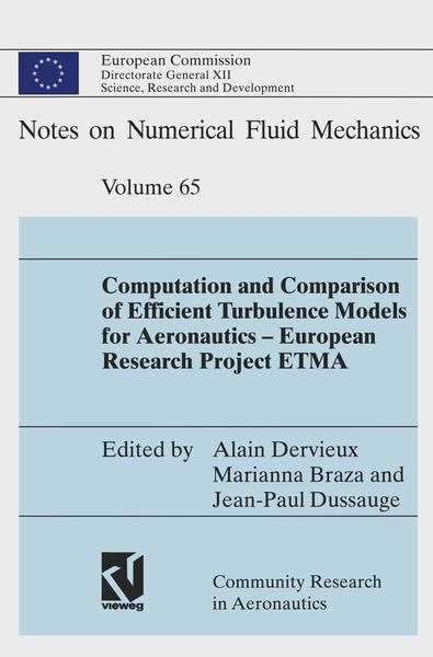 Computation and Comparison of Efficient Turbulence Models for Aeronautics — European Research Project ETMA | Dodax.pl