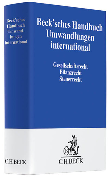 Beck'sches Handbuch Umwandlungen international | Dodax.ch