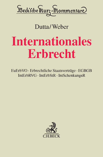Internationales Erbrecht, Kommentar | Dodax.at
