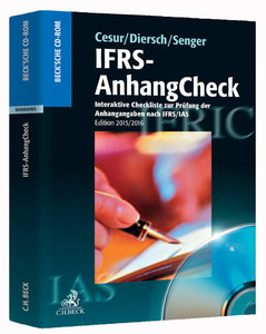 IFRS-AnhangCheck, CD-ROM (Edition 2015/2016) | Dodax.at