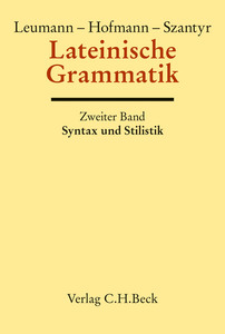 Lateinische Grammatik. Tl.2 | Dodax.at