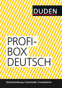 Duden Profibox Deutsch, 3 Bde. | Dodax.de