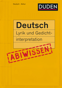 Lyrik und Gedichtinterpretation | Dodax.at