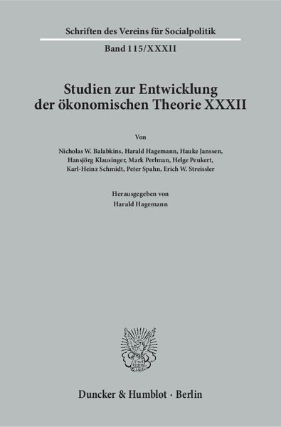 German Influences on American Economic Thought and American Influences on German Economic Thought. | Dodax.at