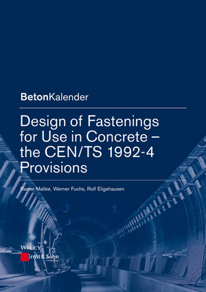 Design of Fastenings for Use in Concrete - the CEN/TS 1992-4 Provisions | Dodax.ch