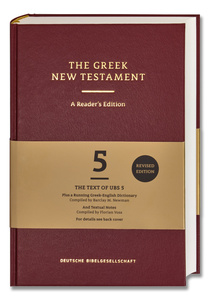 The Greek New Testament. A Reader's Edition | Dodax.pl