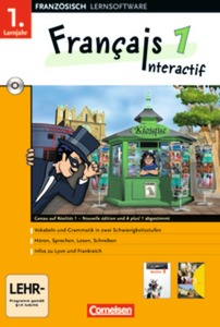 Francais interactif, 1. Lernjahr, 1 CD-ROM | Dodax.at