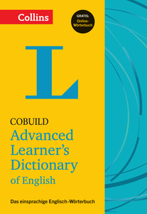Collins Cobuild Advanced Learner's Dictionary of English - Buch mit Online-Anbindung | Dodax.at