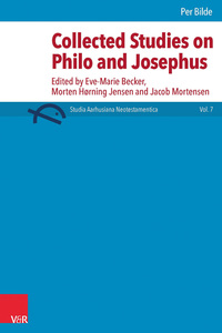 Collected studies on Philo and Josephus | Dodax.at