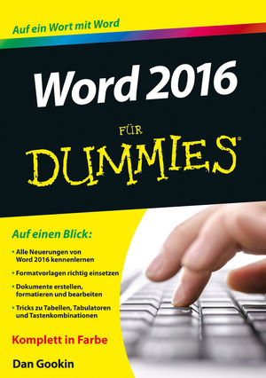 Word 2016 für Dummies | Dodax.at