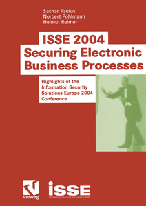 ISSE 2004 — Securing Electronic Business Processes | Dodax.ch