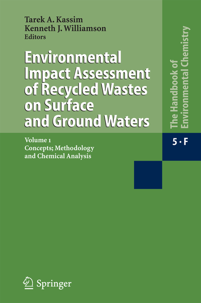 Environmental Impact Assessment of Recycled Wastes on Surface and Ground Waters | Dodax.pl