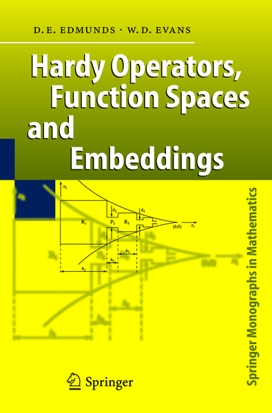 Hardy Operators, Function Spaces and Embeddings | Dodax.nl