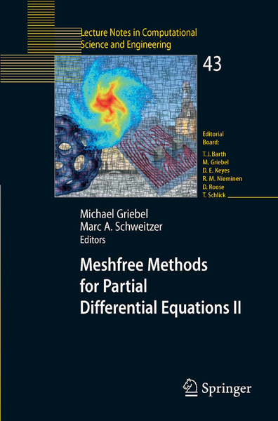 Meshfree Methods for Partial Differential Equations II | Dodax.nl