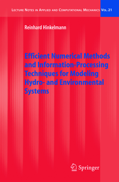 Efficient Numerical Methods and Information-Processing Techniques for Modeling Hydro- and Environmental Systems | Dodax.nl