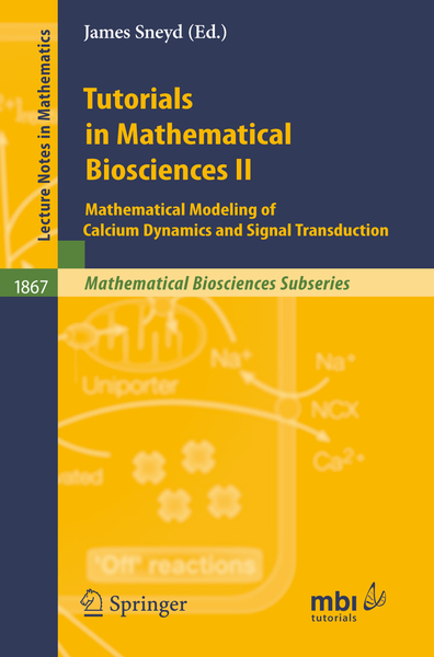 Tutorials in Mathematical Biosciences II | Dodax.ch