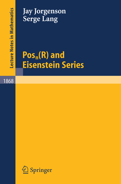 Posn(R) and Eisenstein Series | Dodax.ch