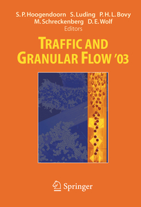 Traffic and Granular Flow ' 03 | Dodax.ch