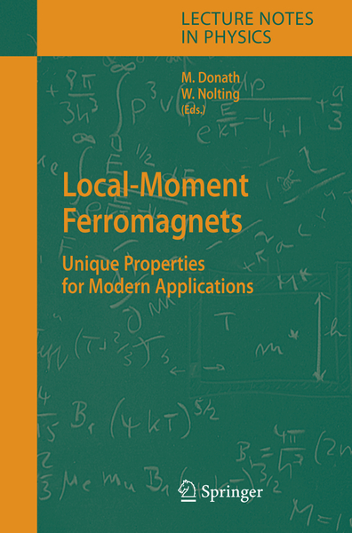 Local-Moment Ferromagnets | Dodax.nl