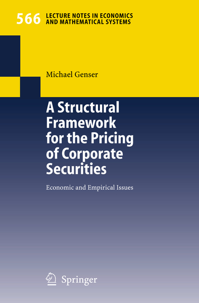 A Structural Framework for the Pricing of Corporate Securities | Dodax.ch