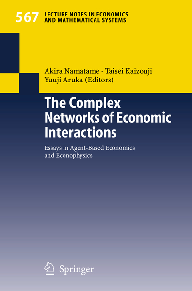 The Complex Networks of Economic Interactions | Dodax.ch