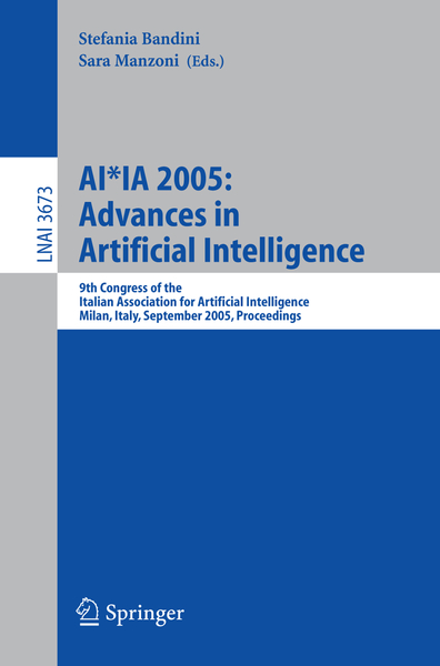 AI IA 2005: Advances in Artificial Intelligence | Dodax.ch