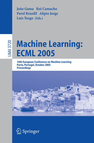 Machine Learning: ECML 2005 | Dodax.ch