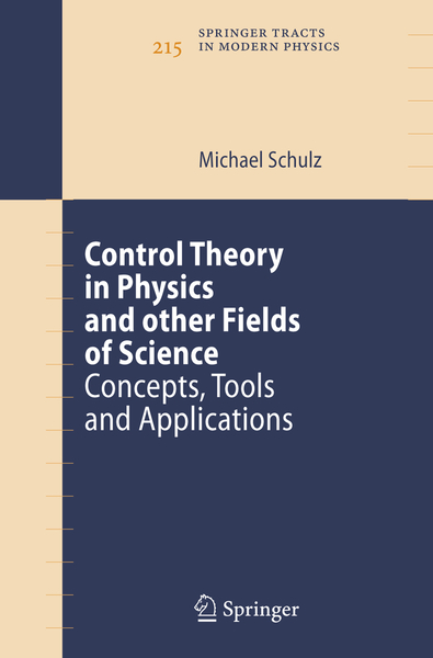 Control Theory in Physics and other Fields of Science | Dodax.nl