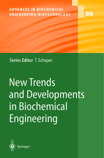 New Trends and Developments in Biochemical Engineering | Dodax.pl