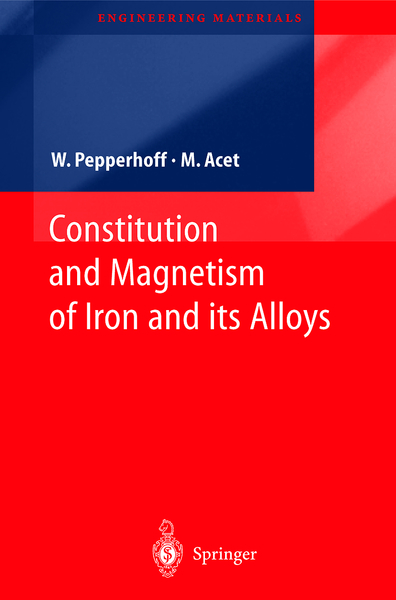Constitution and Magnetism of Iron and its Alloys | Dodax.nl