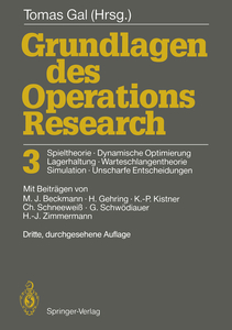 Grundlagen des Operations Research 3 | Dodax.co.uk