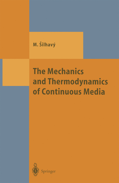 The Mechanics and Thermodynamics of Continuous Media | Dodax.ch
