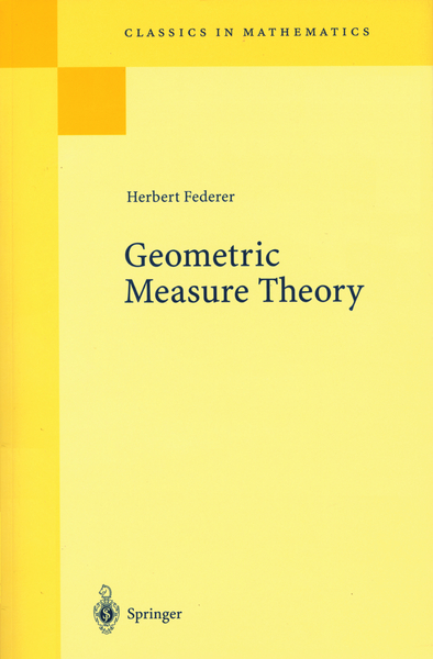 Geometric Measure Theory | Dodax.pl