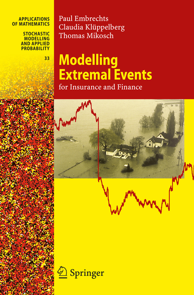 Modelling Extremal Events for Insurance and Finance | Dodax.at
