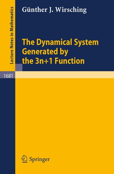 The Dynamical System Generated by the 3n+1 Function | Dodax.ch